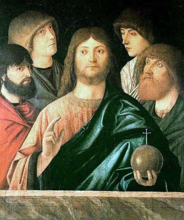Спаситель и четыре апостола   Витторе Карпаччо