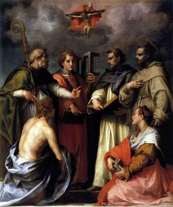 Спор о Троице (Диспута)   Андреа дель Сарто