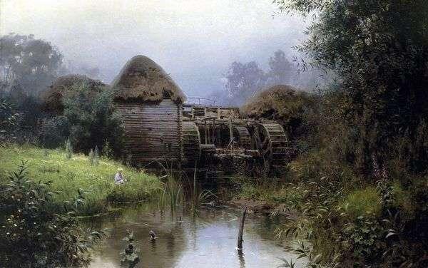 Старая мельница   Василий Поленов