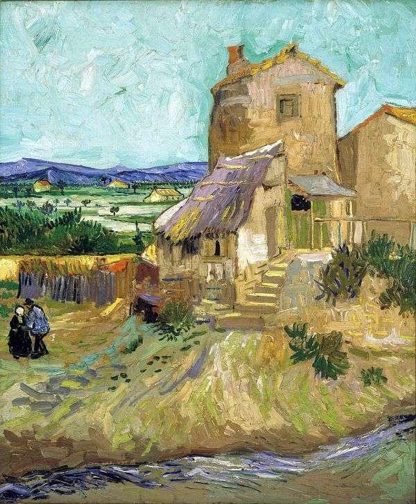 Старая мельница   Винсент Ван Гог