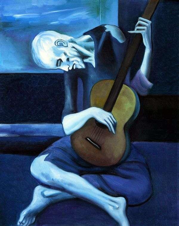 Старый гитарист   Пабло Пикассо