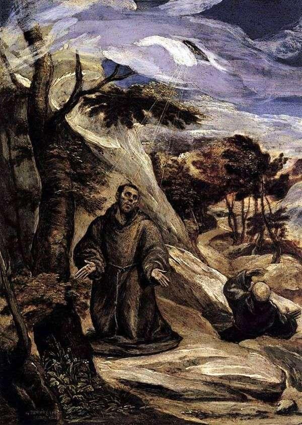 Стигматизация Святого Франциска   Эль Греко