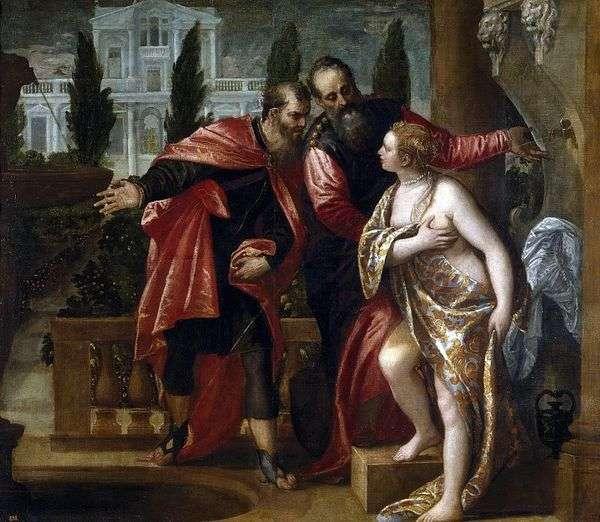 Сусанна и старцы   Паоло Веронезе