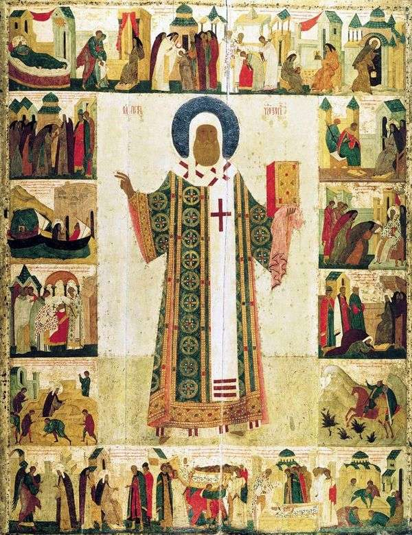 Св. Митрополит Петр с житием   Дионисий