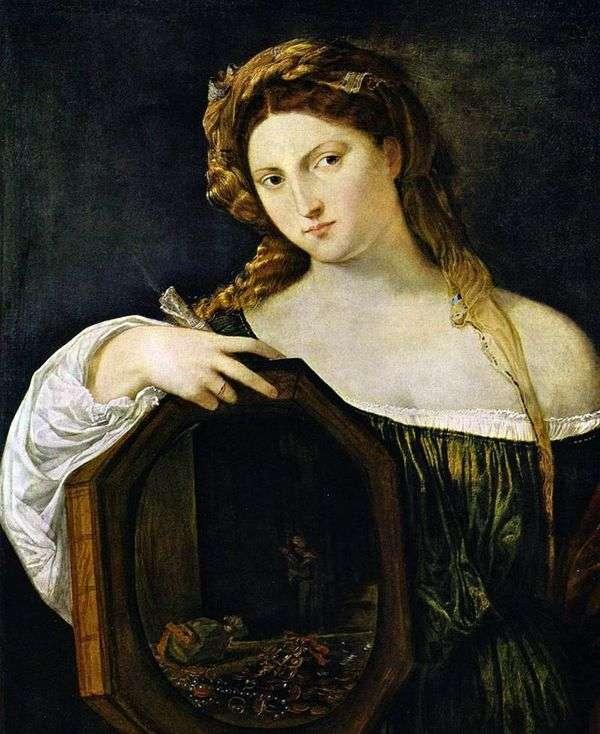 Светская любовь   Тициан Вечеллио