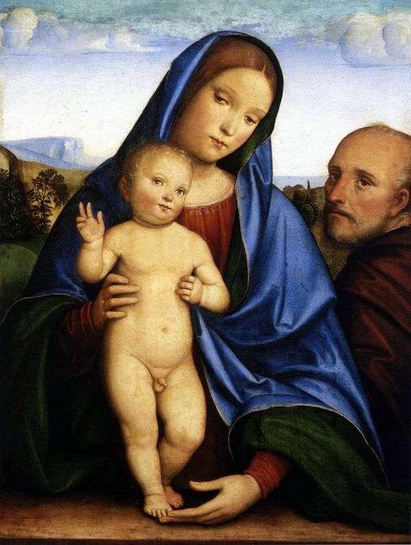 Святое семейство   Франческо Франче