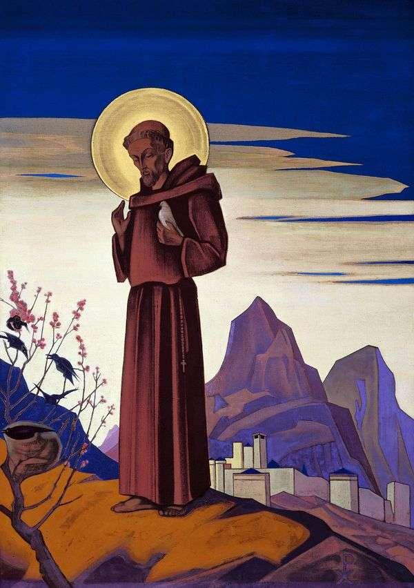 Святой Франциск   Николай Рерих