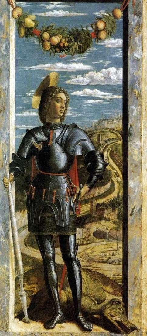 Святой Георгий   Андреа Мантенья