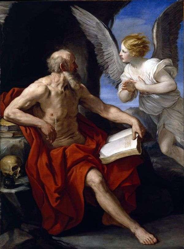 Святой Иероним и ангел   Рени Гвидо