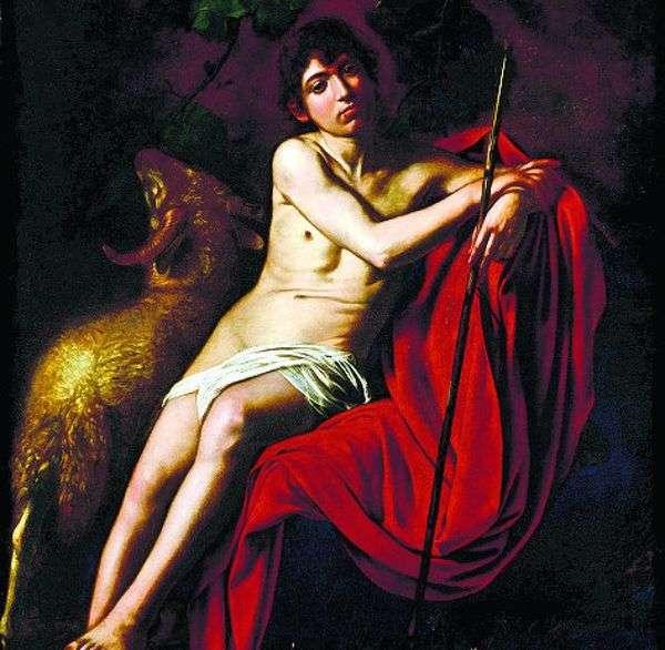 Святой Иоанн Креститель   Микеланджело Меризи да Караваджо