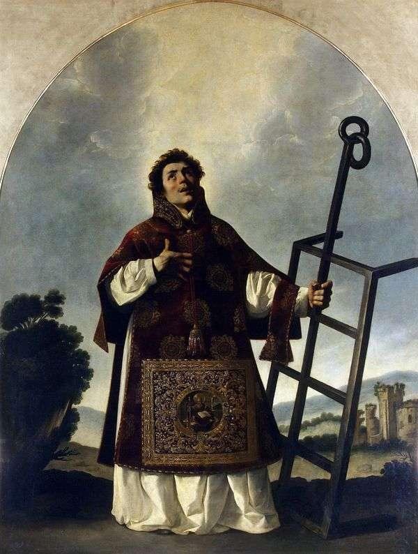 Святой Лаврентий   Франсиско де Сурбаран