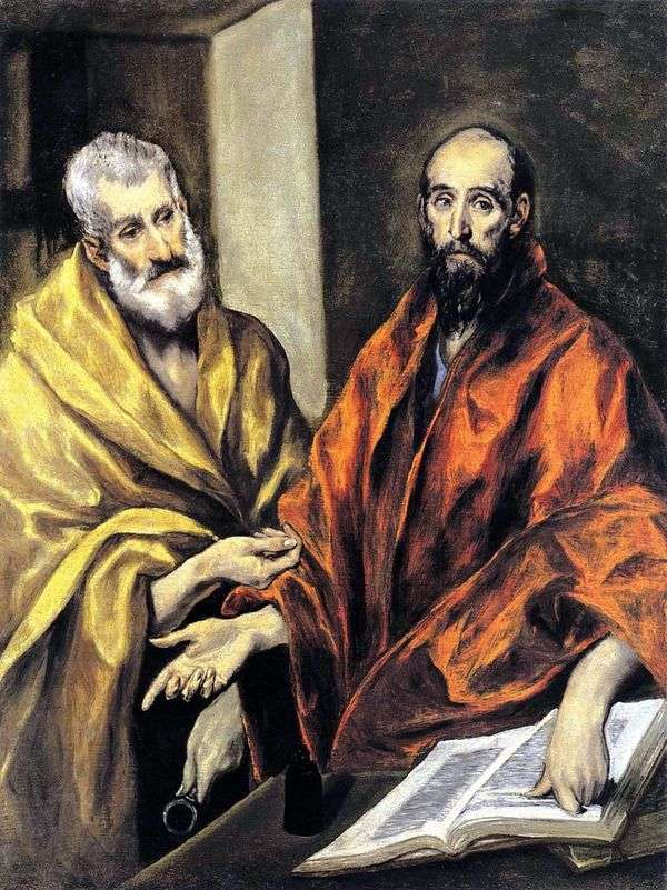 Святые Апостолы Петр и Павел   Эль Греко