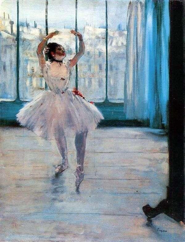 Танцовщица у фотографа   Эдгар Дега