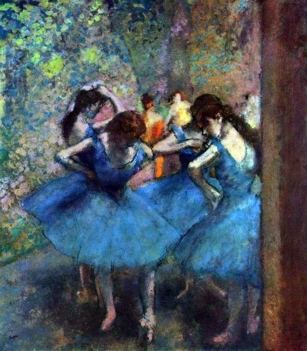 Танцовщицы на репетиции   Эдгар Дега