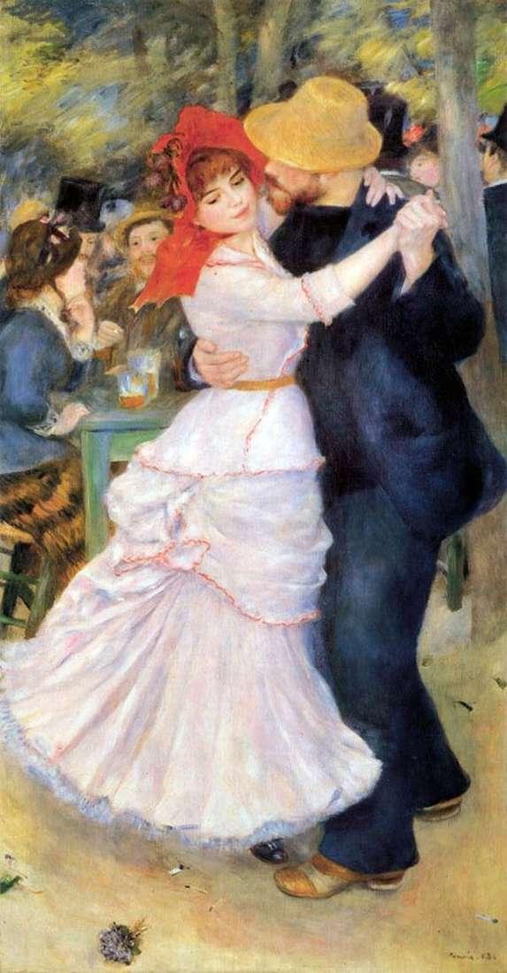 Танец в Буживале   Пьер Огюст Ренуар