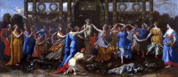 Танец в честь Приапа   Никола Пуссен