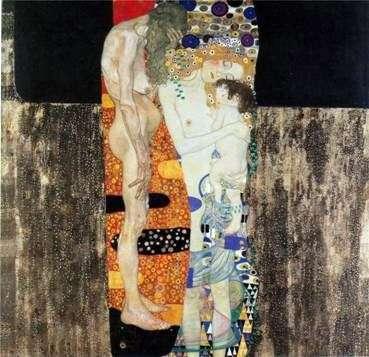 Три возраста женщины   Густав Климт