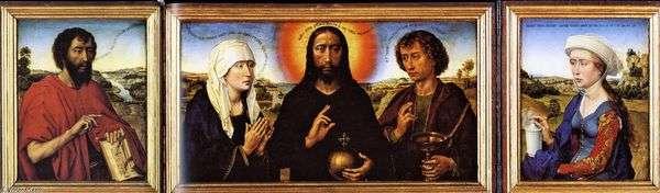 Триптих Брака   Рогир ван дер Вейден