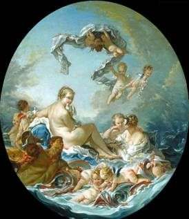 Триумф богини Венеры   Франсуа Буше