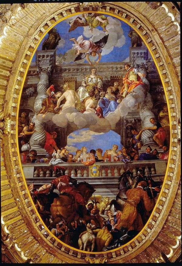 Триумф Венеции   Паоло Веронезе
