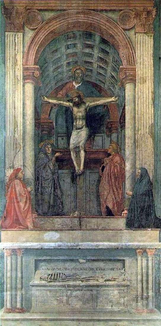 Троица   Мазаччо