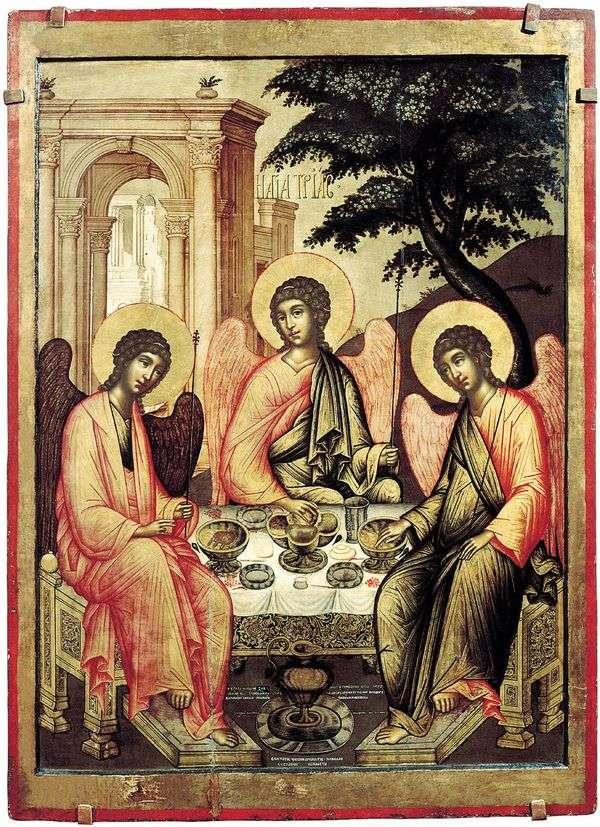 Троица Ветхозаветная   Симон Ушаков