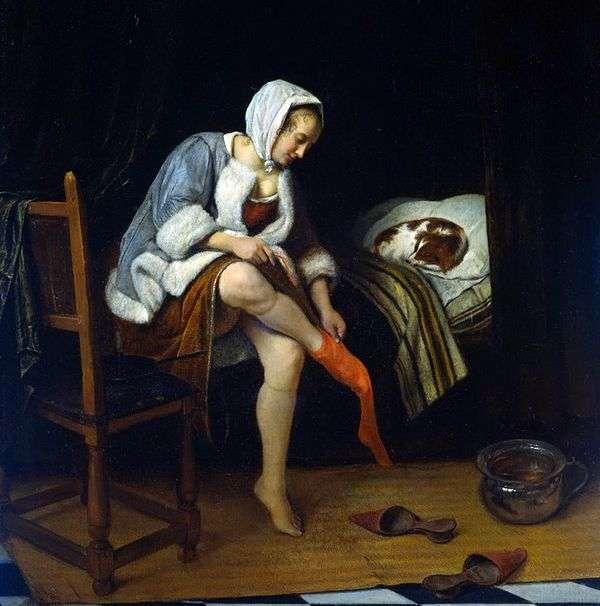 Туалет женщины   Ян Стен