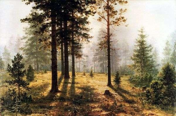 Туман в лесу   Иван Шишкин