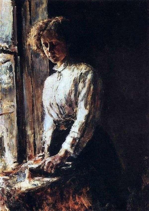 У окна   Валентин Серов