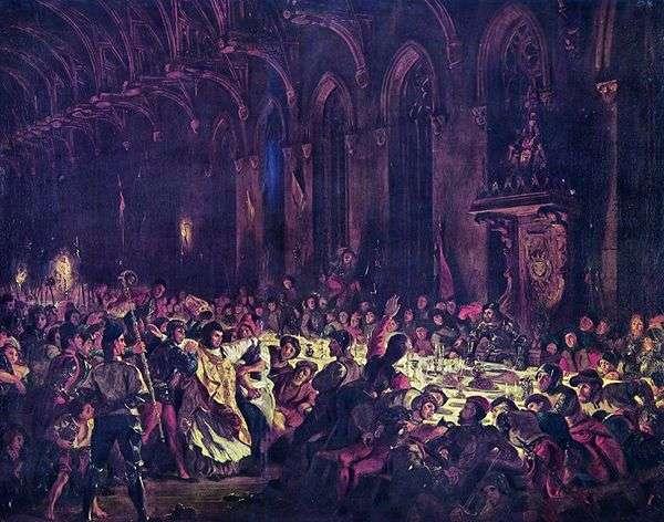 Убийство Льежского архиепископа   Эжен Делакруа
