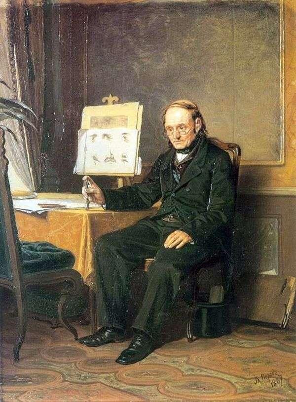 Учитель рисования   Василий Перов
