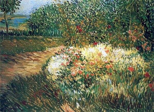 Угол парка дАржансон в Аньере   Винсент Ван Гог