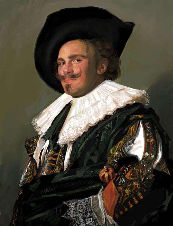 Улыбающийся кавалер   Франс Халс