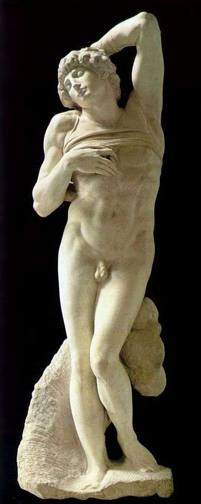 Умирающий раб   Микеланджело Буонарроти