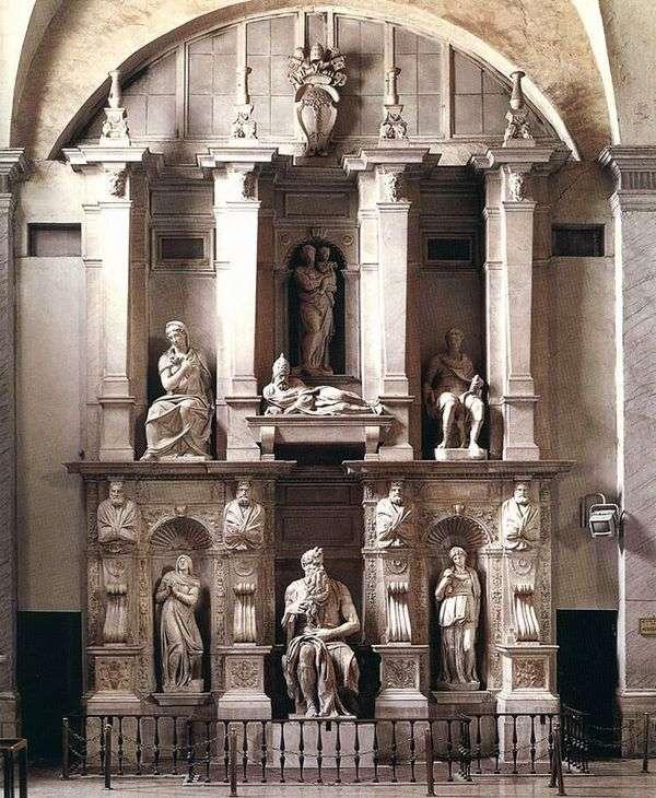 Усыпальница Юлия II   Микеланджело Буонарроти