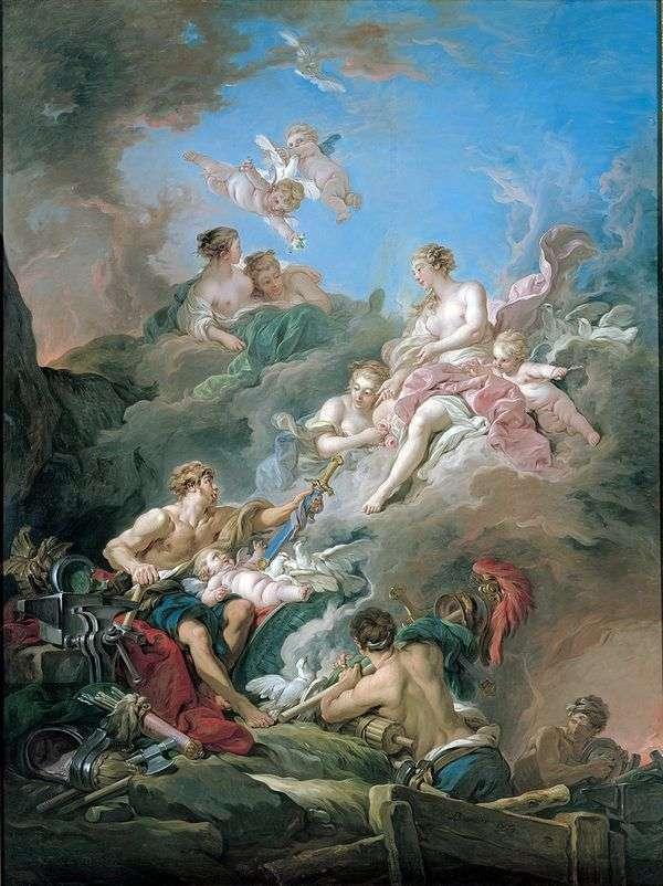 Венера в кузнице Вулкана   Франсуа Буше