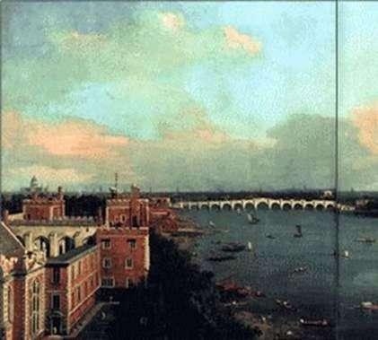 Вид на Лондон   Антонио Каналетто