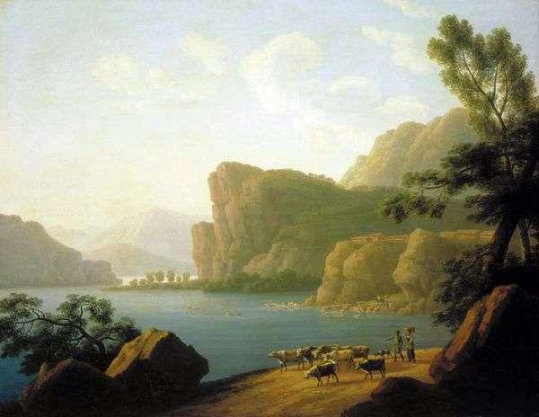Вид реки Селенги в Сибири   Андрей Мартынов