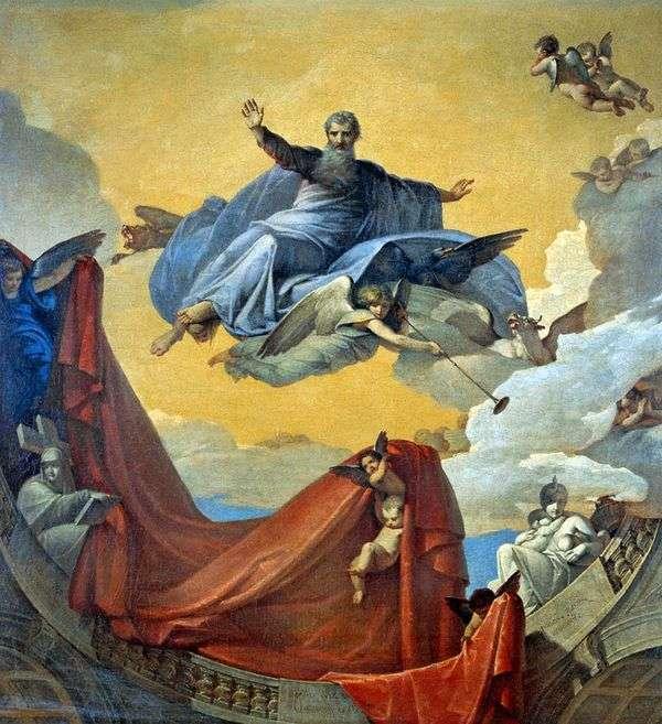 Видение пророка Иезекииля   В. К. Шебуев