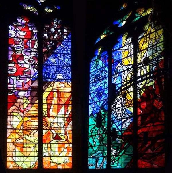 Витражи собора Святого Стефана в Меце   Марк Шагал