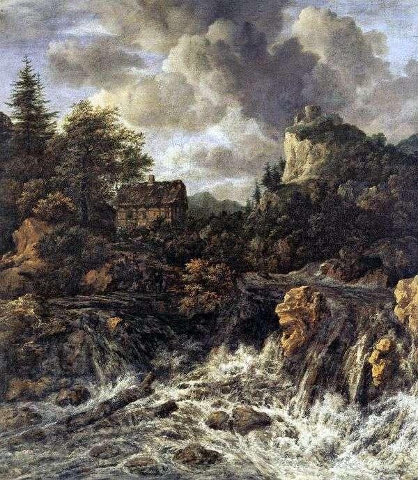 Водопад   Якоб ван Рейсдал