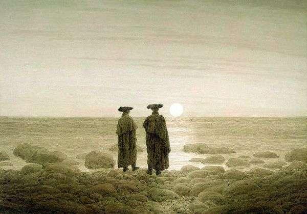 Восход Луны   Каспар Давид Фридрих