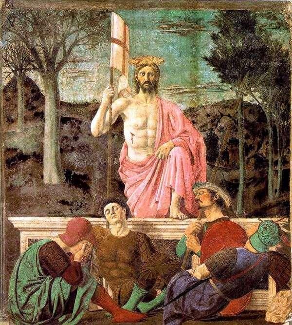 Воскресение   Пьеро делла Франческа