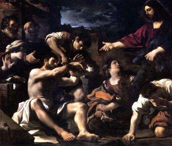 Воскрешение Лазаря   Гверчино