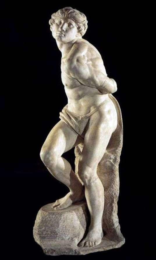 Восставший раб   Микеланджело Буонаротти
