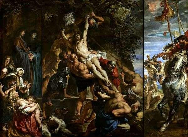 Воздвижение креста   Питер Рубенс