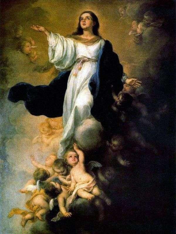 Вознесение Девы Марии   Бартоломе Эстебан Мурильо