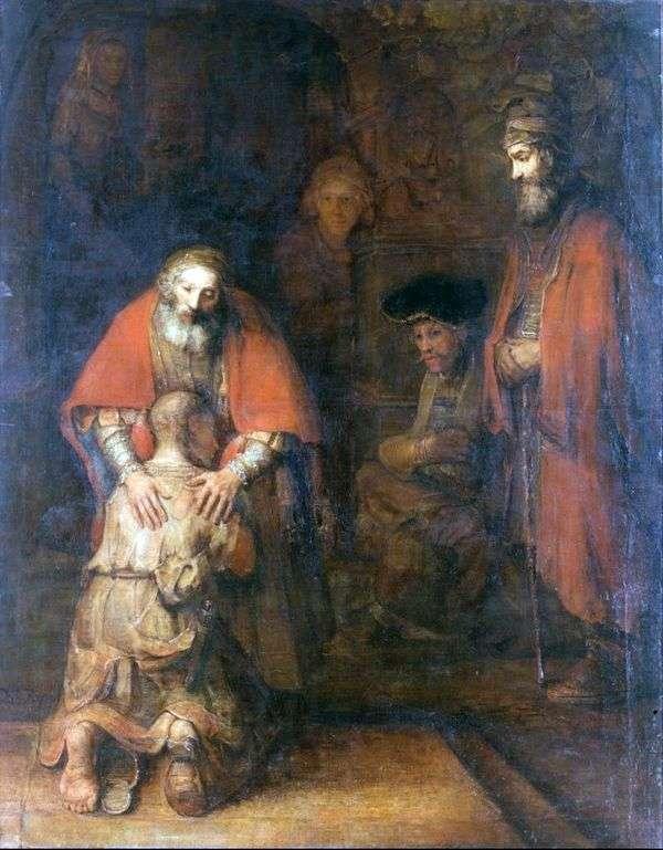 Возвращение блудного сына   Рембрандт Харменс Ван Рейн