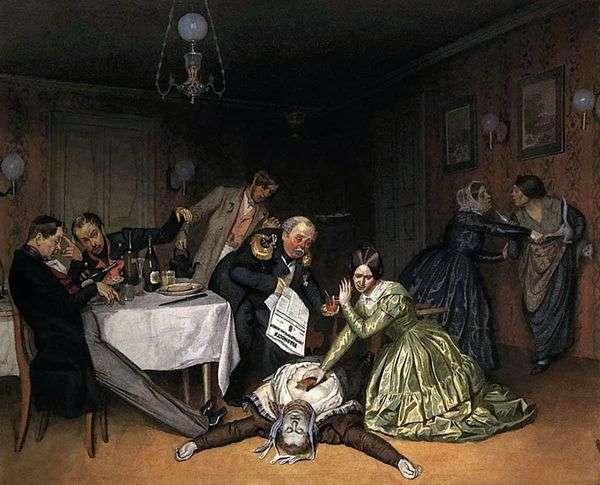 Все холера виновата!   Павел Федотов