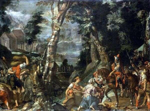 Встреча Давида и Абигайль   Иоахим Эйтевал